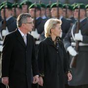 Von der Leyen distanziert sich von Bundeswehrreform-Zielen (Foto)