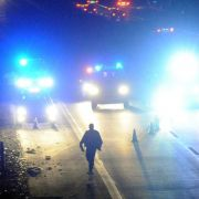 Mutmaßlicher Einbrecher auf der Flucht überfahren (Foto)