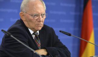 Schäuble will für Athen «sehr strenge Maßstäbe» anlegen (Foto)