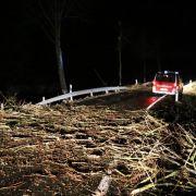 Unwetter mit Sturm fegt durch Osthessen (Foto)