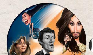 """Skurrile Fakten rund um den ESC im Buch """"The Very Best Of Song Contest"""". (Foto)"""