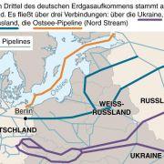 Russland und Ukraine verhandeln über Gaslieferungen (Foto)