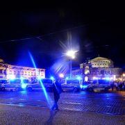 Räumung nach Angriff auf Flüchtlingslager in Dresden (Foto)