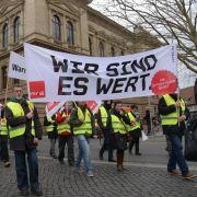 Warnstreiks im öffentlichen Dienst gehen weiter (Foto)