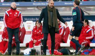 FC Bayern München stellte sich am Mittwoch der Eintracht Braunschweig in der heimischen Allianz-Arena im DFB Pokal Achtelfinale 2015. (Foto)