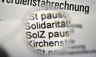Weiter Streit um «Soli» - SPD und Länder gegen schrittweisen Abbau (Foto)