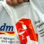 Drogeriekette dm stoppt kostenlose Plastiktüten (Foto)
