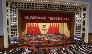 China schraubt Wachstumsziel herunter (Foto)