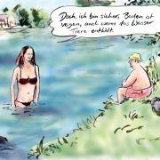 Vegane Cartoons ganz ohne Fleisch (Foto)