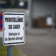 Wichtiges Beweismittel gegen Waffenfirma Sig Sauer gestohlen (Foto)