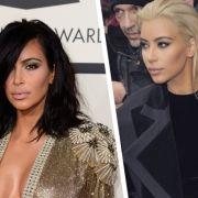 Kim Kardashian ist jetzt platinblond! (Foto)