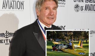 Hatte Glück im Unglück: Harrison Ford. (Foto)