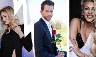Der Bachelor und die Frauen: Oliver Sanne entschied sich in der RTL-Show für Liz Kaeber (l.), ist mittlerweile aber wieder mit seiner Ex-Freundin, Vivien Konca, liiert. (Foto)
