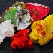 Mehrheit befürwortet Kosten für Plastiktüten (Foto)