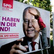 Steinbrück: «Kanzlerkandidatur war ein Fehler» (Foto)