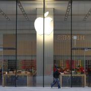 Apple zieht in die Königsklasse der Aktien-Indizes ein (Foto)