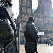 Terrorverdächtige waren in Bremen (Foto)
