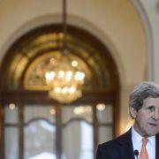 Kerry unterrichtet EU-Kollegen über Iran-Atomgespräche (Foto)