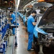 Trotz schwacher Weltkonjunktur: China glaubt an Außenhandel (Foto)