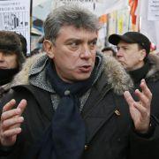 Erstes Geständnis im Nemzow-Mord (Foto)