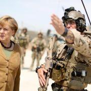 Merkel unterstützt Idee einer europäischen Armee (Foto)