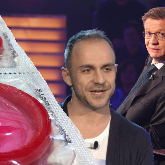 Jauch sprachlos! Kandidat arbeitete als Kondomtester (Foto)