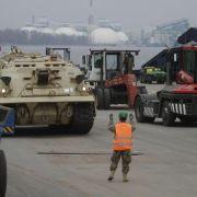 USA schicken 3000 Soldaten zu Manövern ins Baltikum (Foto)
