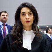 Anwältin für die Reichen? Auf welcher Seite steht Amal Clooney? (Foto)