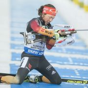 Keine WM-Medaillen für deutsche Biathleten im Einzel (Foto)