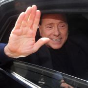 Berlusconi nach Freispruch im «Ruby»-Prozess erleichtert (Foto)