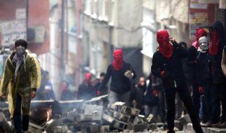 Ausschreitungen bei Gezi-Gedenken in Istanbul (Foto)