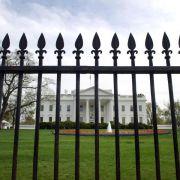 Leibwächter rammten Sicherheitszaun am Weißen Haus (Foto)