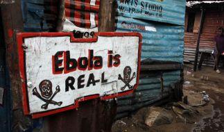 Impf-Stopp wegen Ebola: Jetzt drohen andereEpidemien (Foto)