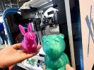 Cebit 2015 in Hannover: Präsentiert werden unter anderem Produkte eines neuartigen 3D-Druckers. (Foto)