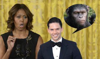 Rodner Figueroa wurde wegen eines vermeintlich rassistischen Kommentars gegen Michelle Obama gefeuert. (Foto)
