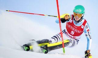 Felix Neureuther kann beim Finale in einer Woche als zweiter deutscher Skirennfahrer den Slalom-Disziplinweltcup bei den Herren gewinnen. (Foto)