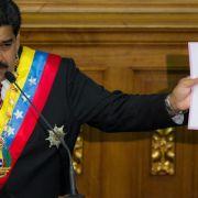 Venezuelas Präsident Maduro lässt sich in Nicaragua feiern (Foto)