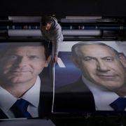Netanjahu muss Niederlage fürchten (Foto)
