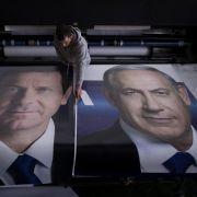 Knappes Rennen bei Wahl in Israel erwartet (Foto)
