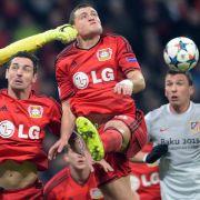 Bayer Leverkusen verpasst Viertelfinale wieder nur knapp (Foto)