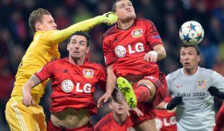 Im Champions League Achtelfinale kickte Atlético Madrid den Bundesligist Bayer 04 Leverkusen raus. (Foto)