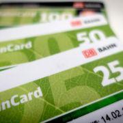 Bahn will mit neuer Bahncard wieder Fahrt gewinnen (Foto)
