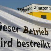 Streik bei Amazon in Bad Hersfeld fortgesetzt (Foto)