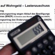 Mehr Wohngeld: Aufstockung auf 1,4 Milliarden Euro (Foto)
