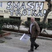 Schäuble: Zeit für Griechenland wird knapp (Foto)