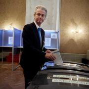 Schwere Verluste für niederländische Koalition (Foto)