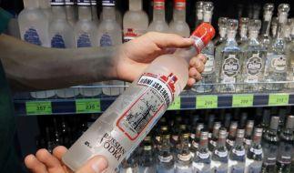 Ein brasilianischer Student ist nach 25 Wodka-Shots an Alkoholvergiftung gestorben. (Foto)