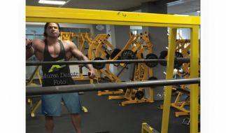 Ex-Nationaltorwart Tim Wiese hat ordentlich Muskelmasse aufgebaut. (Foto)