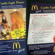 McDonald's lädt zum Candle-Light-Dinner (Foto)