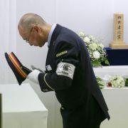 Saringas-Anschlag vor 20 Jahren: Gedenken in Japan (Foto)